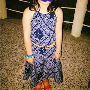3/$27 Halter style girl's summer dress